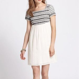 ANTHROPOLOGIE Paris Tioga Babydoll Dress
